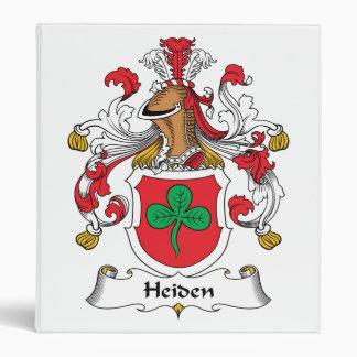 Heiden Family Crest Binders