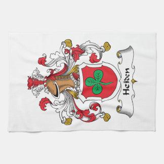 Heiden Family Crest Hand Towels
