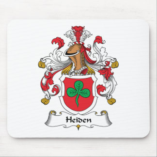 Heiden Family Crest Mouse Pad