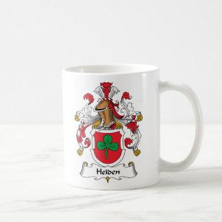 Heiden Family Crest Classic White Coffee Mug
