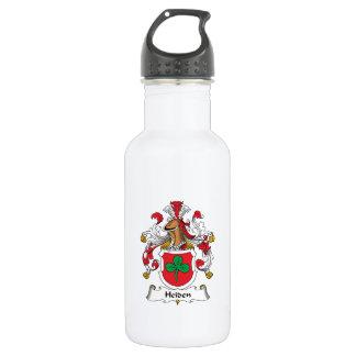 Heiden Family Crest 18oz Water Bottle