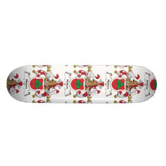 Heiden Family Crest Custom Skateboard