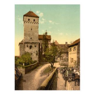 Heidenturm, Nuremberg, Bavaria, Germany Postcard