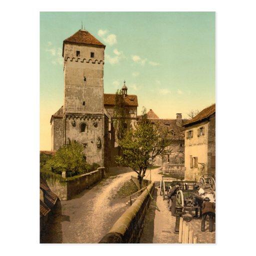 Heidenturm, Nuremberg, Baviera, Alemania Postales