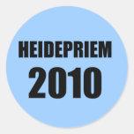 HEIDEPRIEM 2010 PEGATINAS