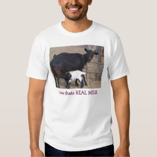 Heidi & Curly Sue, now thats REAL MILK T-shirt