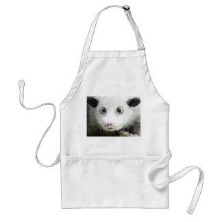 Heidi el oposum bizco delantal