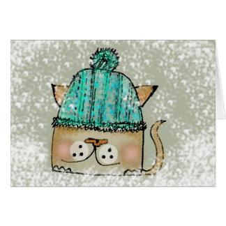 Heidi in the Snow Card