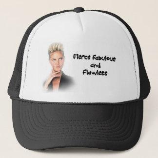 Heidi Klum Fierce Fabulous and Flawless Trucker Hat