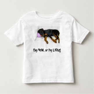 Heidi Play Now, or Pay Later Child's T-Shirt