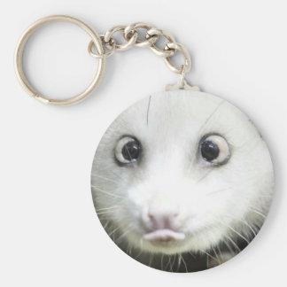 Heidi The Cross Eyed Opossum Keychains
