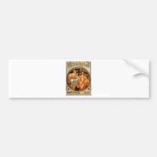 Heidsieck by Alphonse Mucha Bumper Sticker