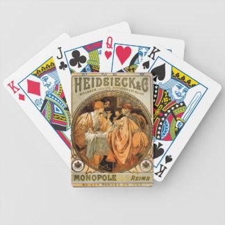 Heidsieck Poker Deck