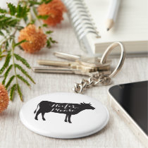 Heifer Please Key Chain