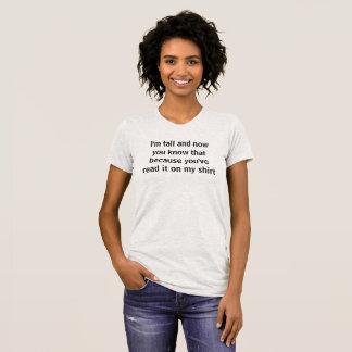 height announcement T-Shirt