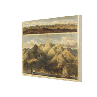 Heights, mountains of Scotland Stretched Canvas Prints