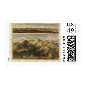 Heights, mountains of Scotland Postage Stamps