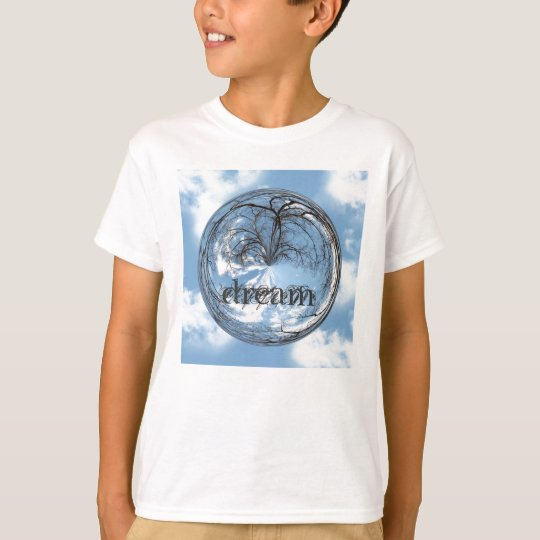 Heights of Heaven with  tree, clouds , sky, bubble T-Shirt