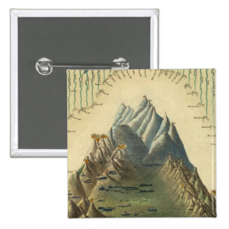 Heights Of The Principal Mountains In The World Pinback Button