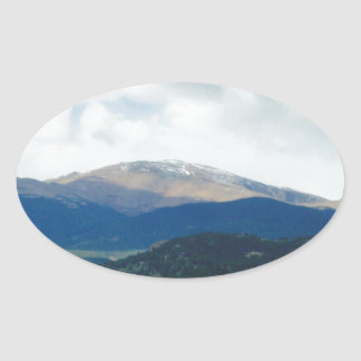 Heights Oval Sticker
