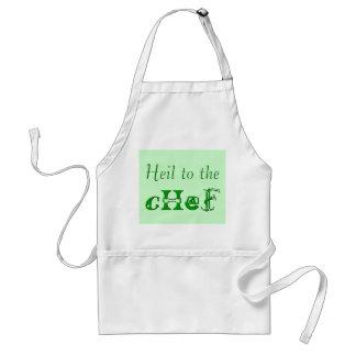 Heil al cocinero delantal
