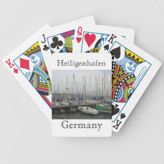 Heiligenhafen Germany Bicycle Playing Cards