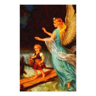 Heiliger Schutzengel - Guardian Angel 11 oil Stationery