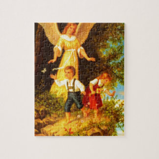 Heiliger Schutzengel - Guardian Angel 8 oil Puzzle