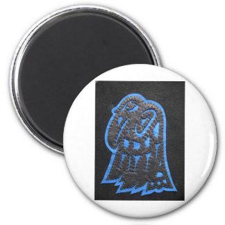 Heiltsuk Raven 2 Inch Round Magnet