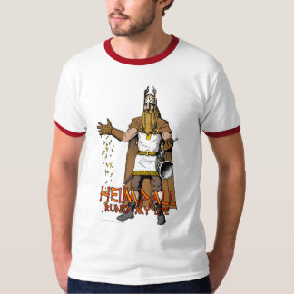 """Heimdall Runed My Life"" Tshirt"