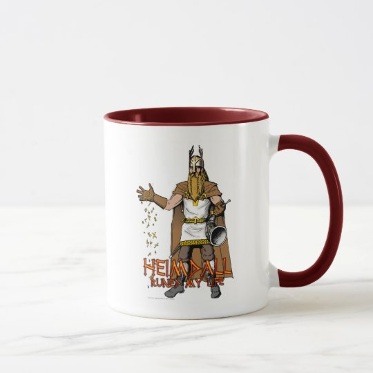 """Heimdall Runed Our Lives"" Mug"