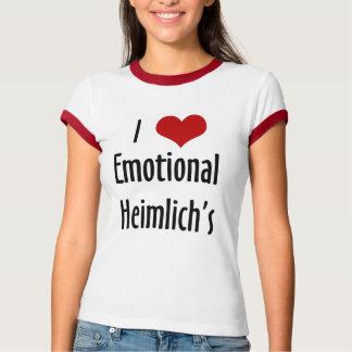 heimlich emocionales del corazón i playera