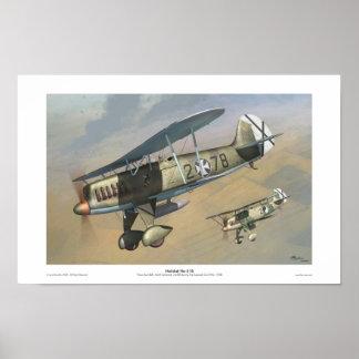 Heinkel He-51B Poster
