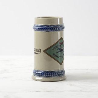 Heinle's Jockey Club Root Beer Stein Coffee Mugs
