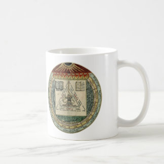 Heinrich Khunrath Mug: The 4, 3, 2, 1 Coffee Mug