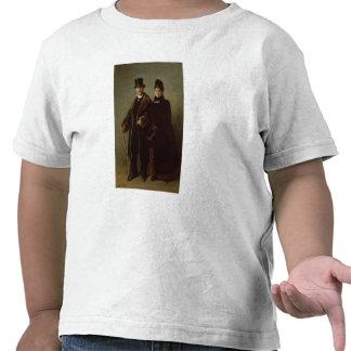 Heinrich Schliemann  and his Wife T-shirts
