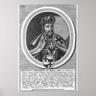 Heinricus Dusnerus Poster