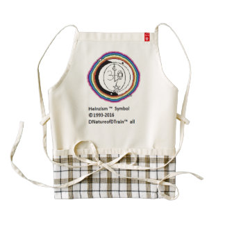 Heinzism logo zazzle heart apron