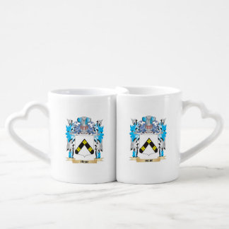 Heir Coat of Arms - Family Crest Couples' Coffee Mug Set