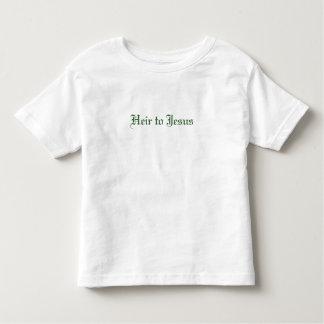 Heir to Jesus - Toddler Toddler T-shirt
