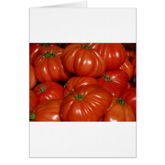 Heirloom Garden Tomato Card
