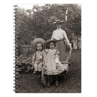 Heirloom Gardening Garden Mother Daughter 1890 Notebook