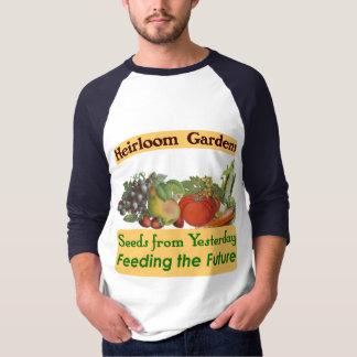Heirloom Gardens Green Saying T-shirt