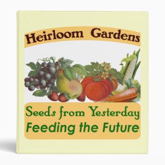 Heirloom Gardens Seed Saver Binder