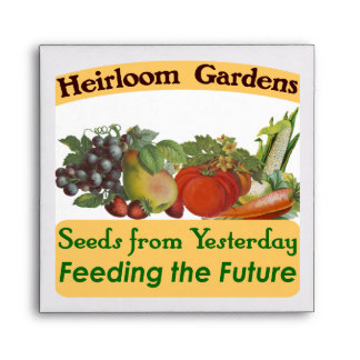 Heirloom Gardens Seed Saver Envelope