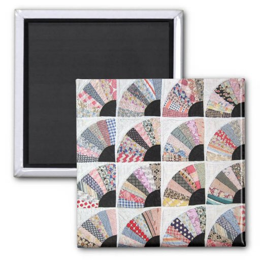 Heirloom Quilt! 2 Inch Square Magnet