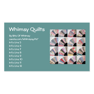 Heirloom Quilt Double-Sided Standard Business Cards (Pack Of 100)