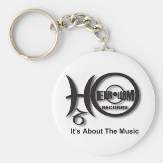 Heirloom Records Collection Keychain
