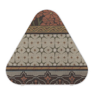 Heirloom Textile with Decorative Patterns Bluetooth Speaker