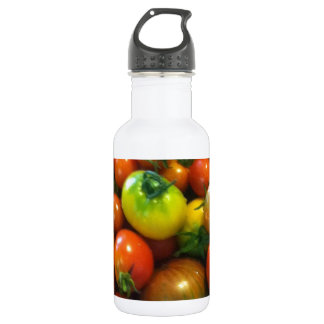 heirloom toamtoes water bottle